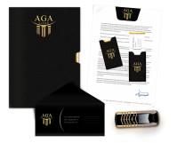 Фирменный стиль AGA