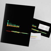 """""""Integrium"""" - логотип и фирменный стиль"""