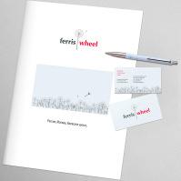 """""""FerrisWheel"""" - логотип и фирменный стиль"""