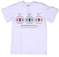 Принт на футболку три яблочка