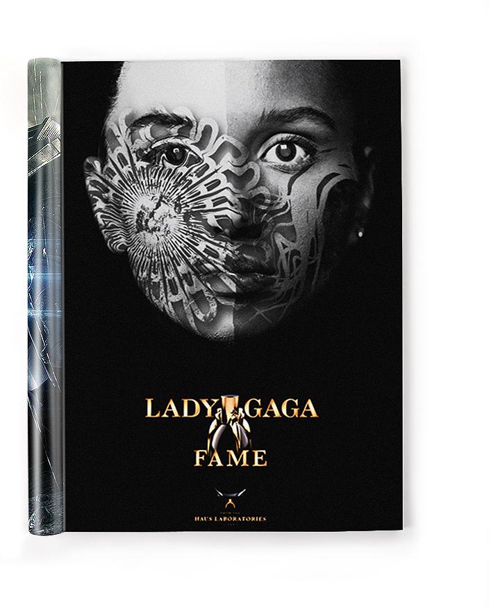 Реклама парфюма «Lady Gaga Fame»