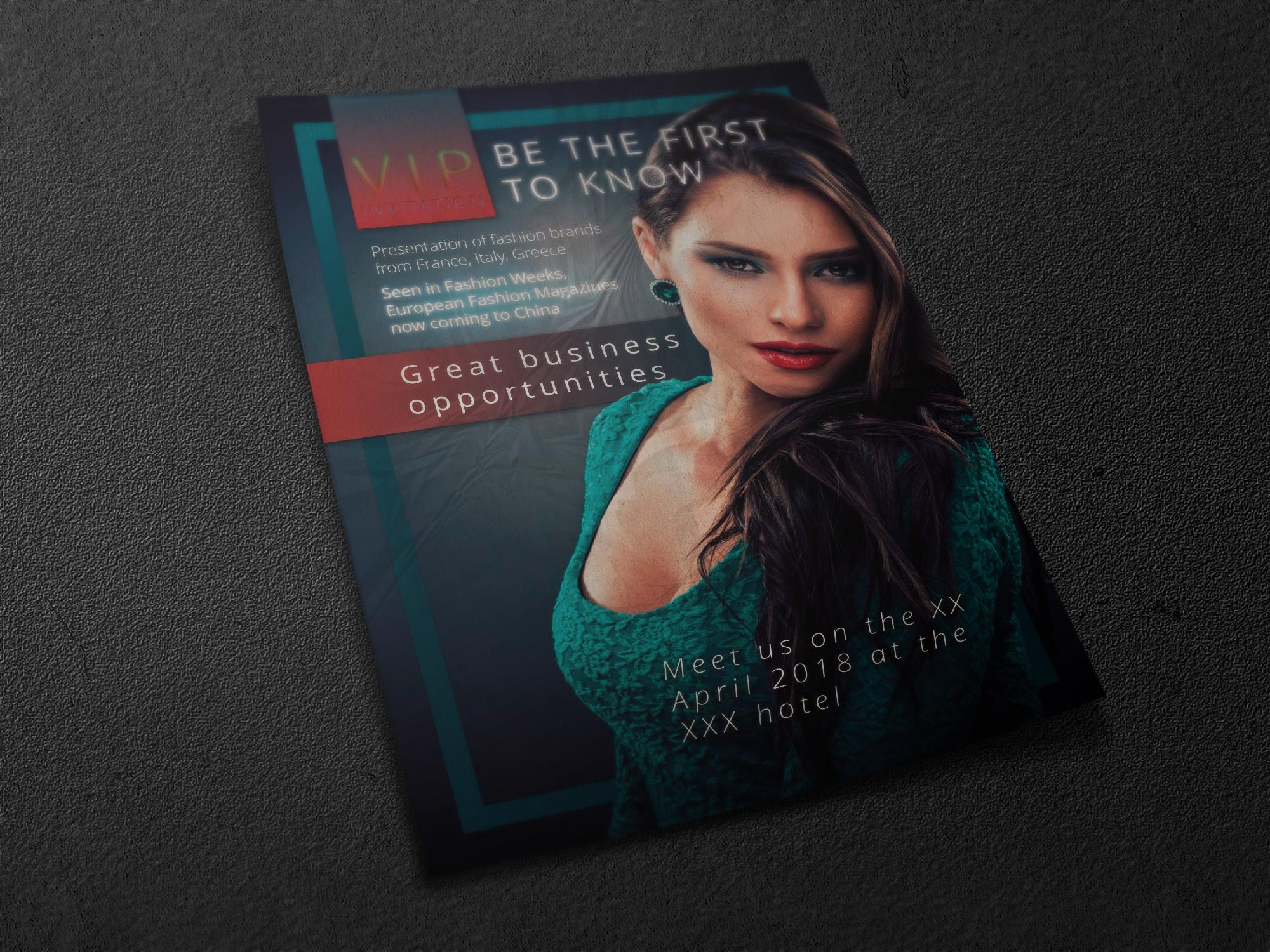 Флаер для модного мероприятия фото f_8575a4e8f9241262.jpg