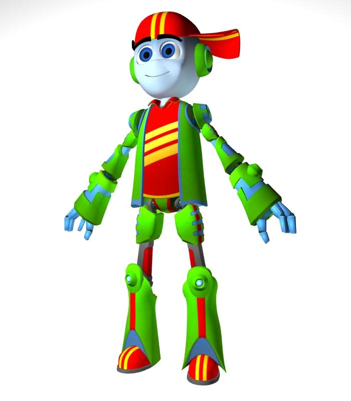 "Модель Робота - Ребёнка ""Роботёнок"" фото f_4b881e59e2a9d.jpg"