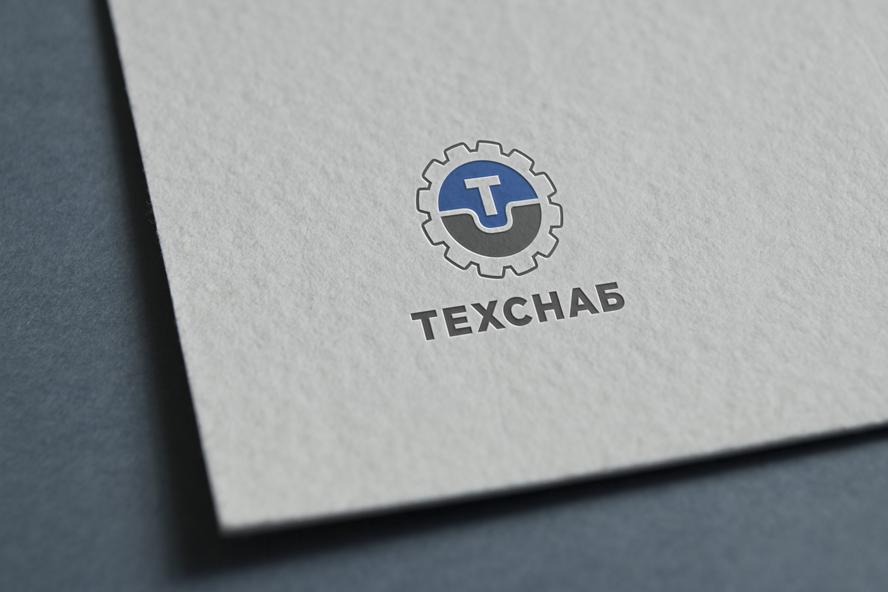Разработка логотипа и фирм. стиля компании  ТЕХСНАБ фото f_1175b242032ce196.png