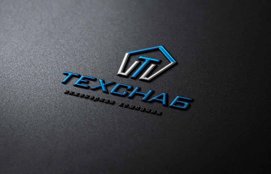 Разработка логотипа и фирм. стиля компании  ТЕХСНАБ фото f_2075b22d39246b08.png
