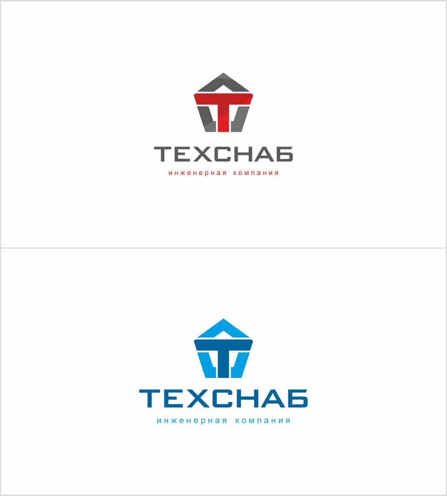 Разработка логотипа и фирм. стиля компании  ТЕХСНАБ фото f_5945b22d36d35121.png