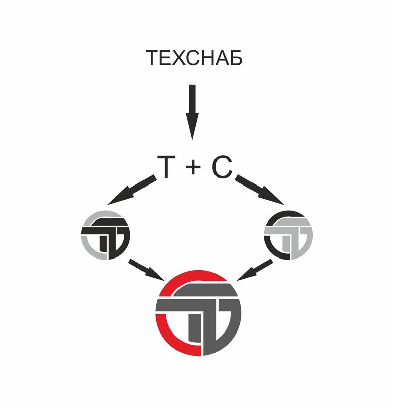 Разработка логотипа и фирм. стиля компании  ТЕХСНАБ фото f_7065b23abdf7b524.png