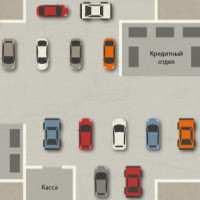 План Автосалона