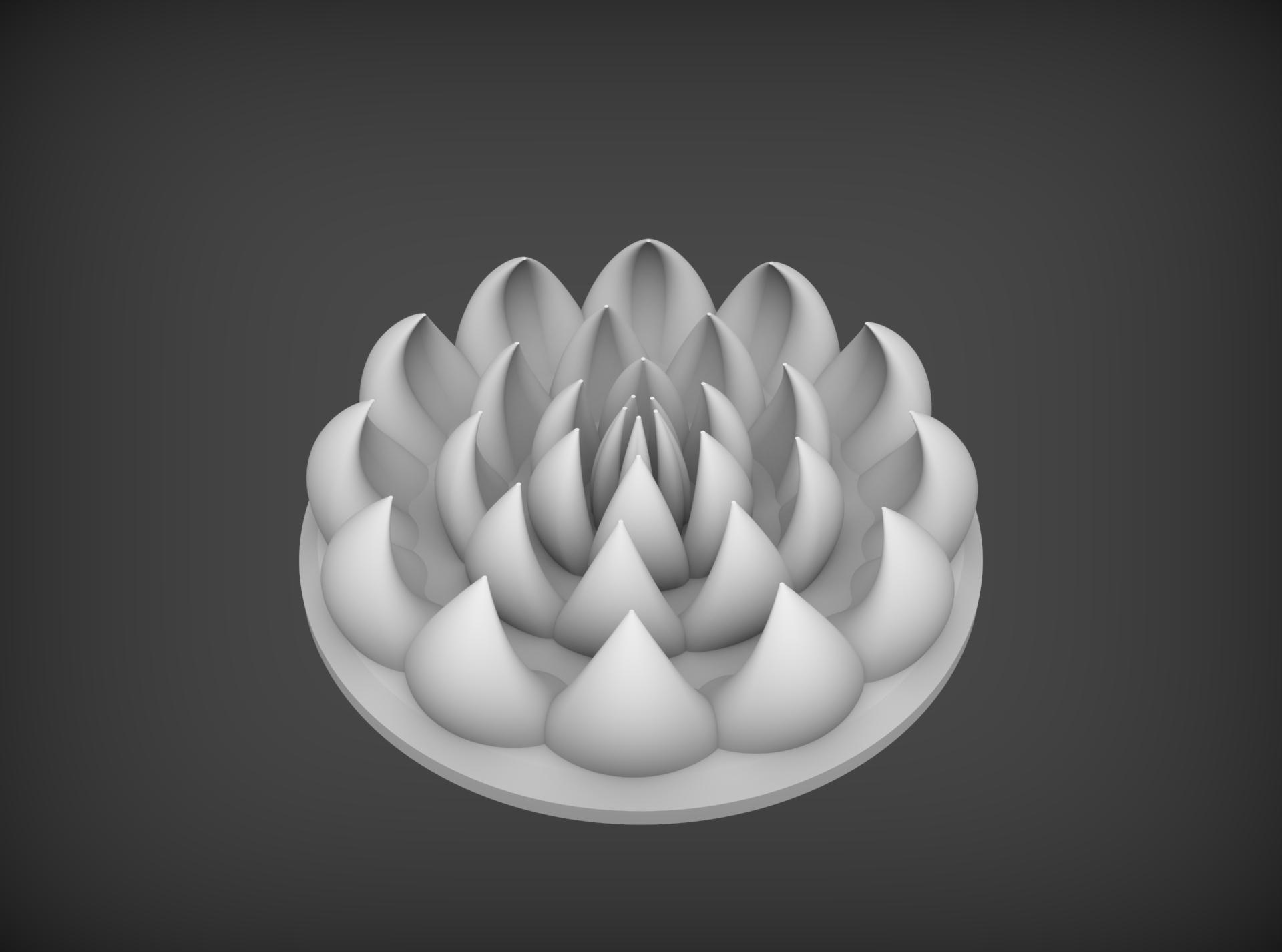 Сделать 3D модель массажного элемента формат STP/UG фото f_1425d2d9e5fcd282.jpg