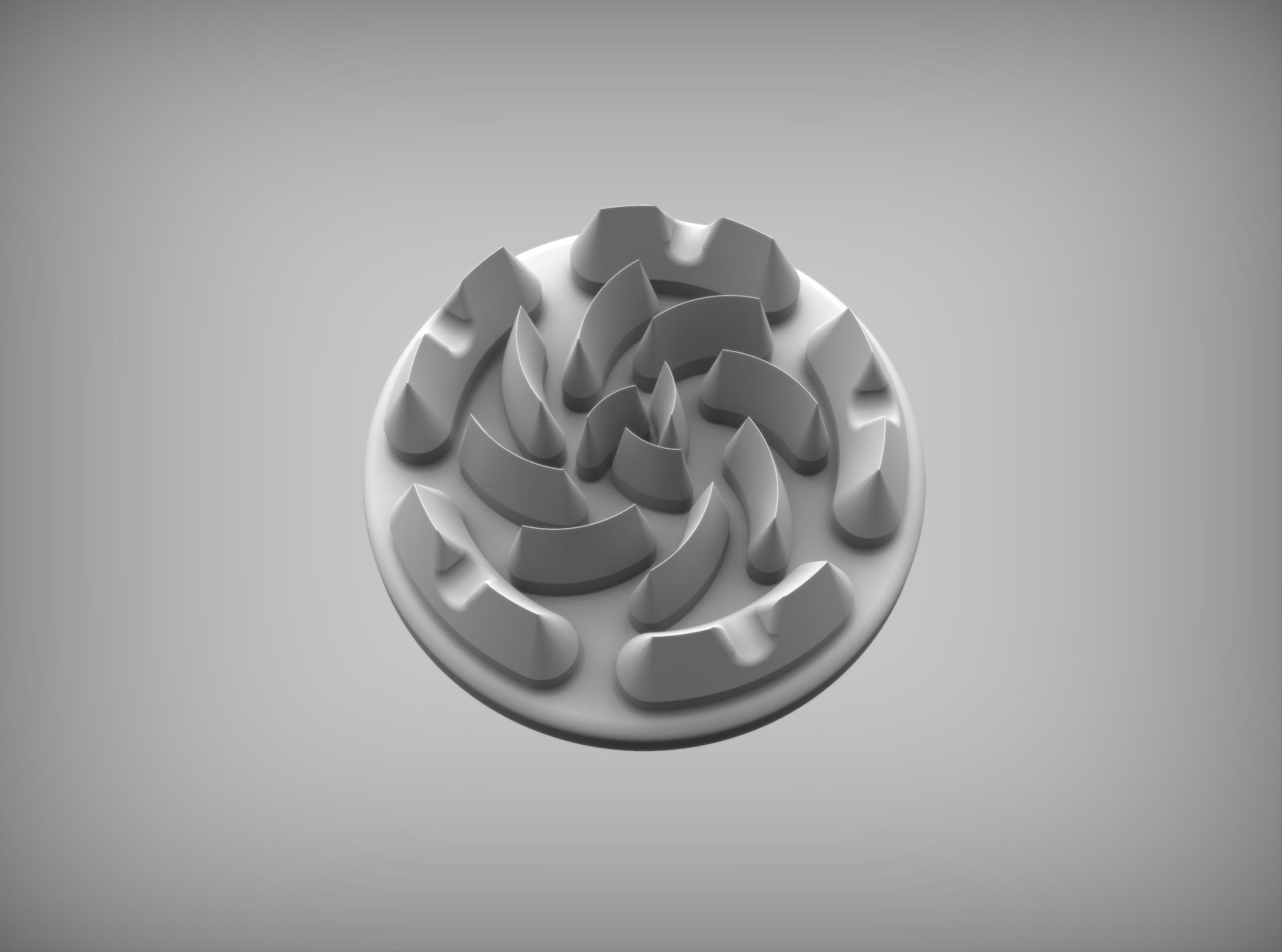 Сделать 3D модель массажного элемента формат STP/UG фото f_7305d28d7166a54f.jpg