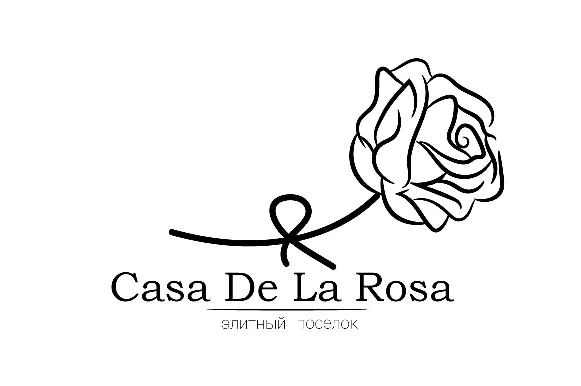 Логотип + Фирменный знак для элитного поселка Casa De La Rosa фото f_1995cd5a22779a9d.jpg