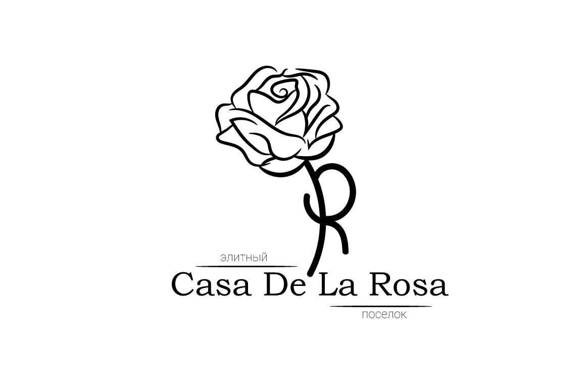 Логотип + Фирменный знак для элитного поселка Casa De La Rosa фото f_7105cd5a21f81560.jpg