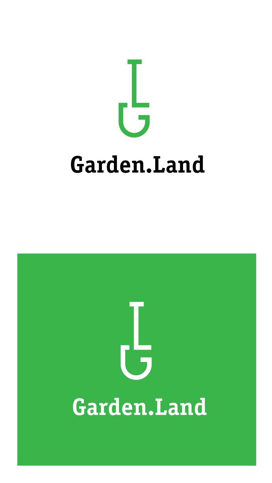 Создание логотипа компании Garden.Land фото f_83659876fa9060d7.jpg