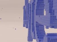 Создание анимированного 3d-логотипа из кубиков