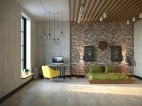 Спальня в стиле Loft
