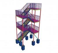 Лестница (Готовый проект КМ, КМД - 2 000 рублей)*