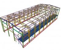 Здание 16х36х7.5м с краном 3.5т (Готовый проект КМ и КМД - 22 000 рублей)