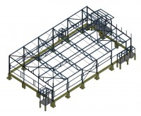 Здание 18х32х3.75м (Готовый проект КМ,КМД,КЖ-15 000 рублей)