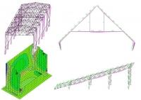 Расчет строительных конструкций из металла, бетона, блоков, кирпича, дерева
