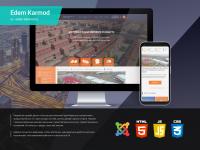 """Дизайн сайта """"Кармод"""""""