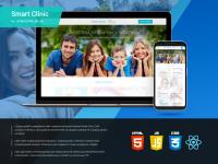 Дизайн сайта стоматологической клиники Smart Clinic