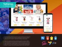 Интернет-магазин игрушек Toy express
