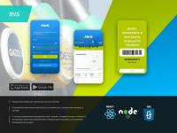 Мобильное приложение для сети АЗС BVS React Native