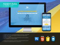 Редизайн сайта аквапарка Aquaparkbudva