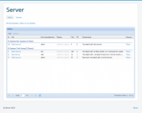 Разработка клиент-серверного компонента управления модулями сайта