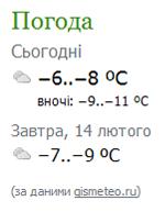 Модуль для Joomla 1.5. Погода