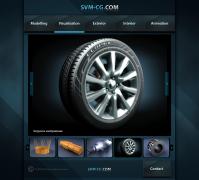 Сайт-портфолио svm-cg.com