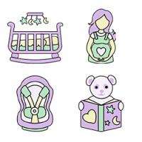 Иконки Онлайн-магазин для мам