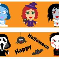 Персонажи к празднику Halloween