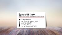 [Евгений Ким] Визитка
