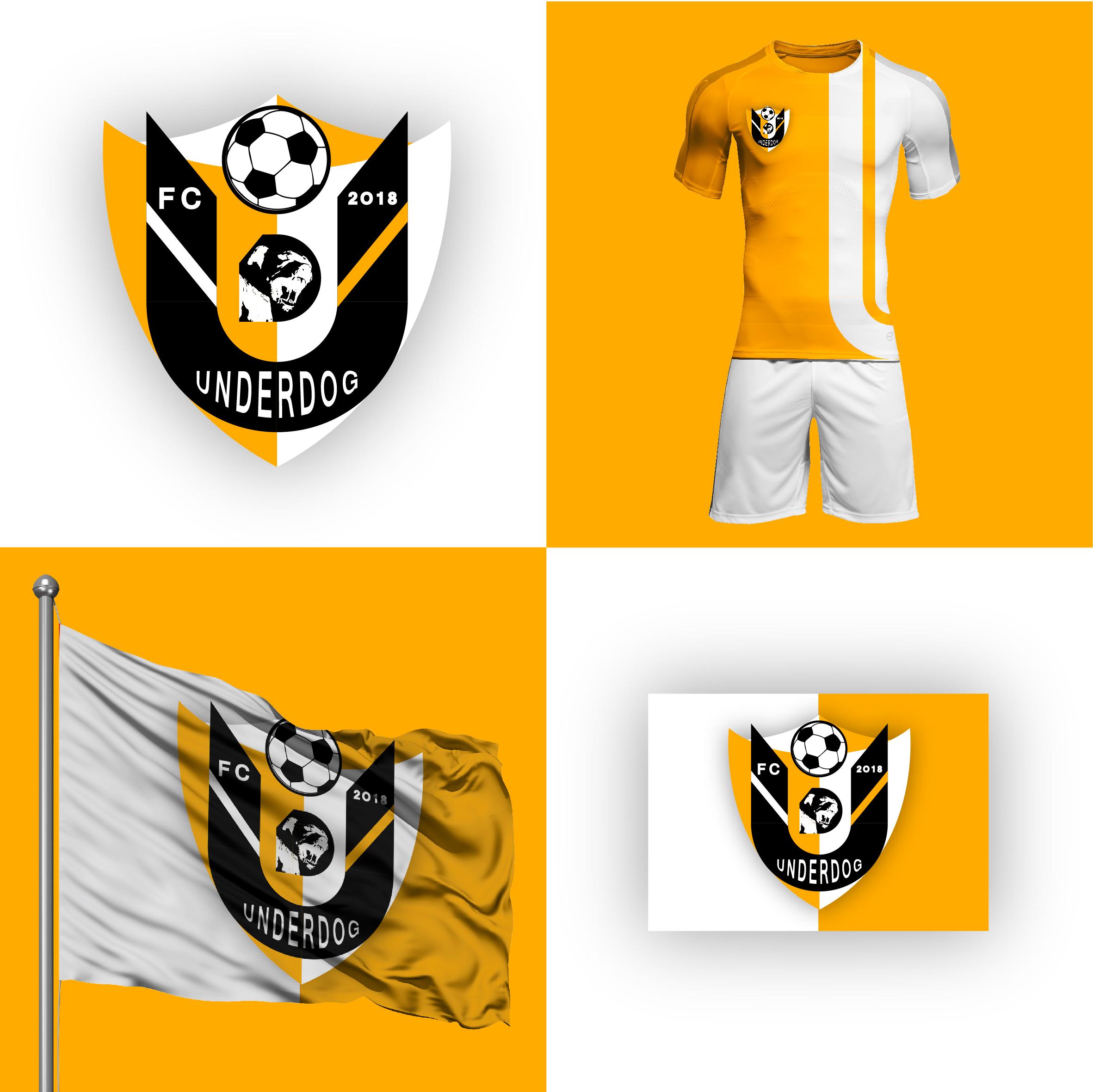 Футбольный клуб UNDERDOG - разработать фирстиль и бренд-бук фото f_6525cb0868bd2d1c.jpg