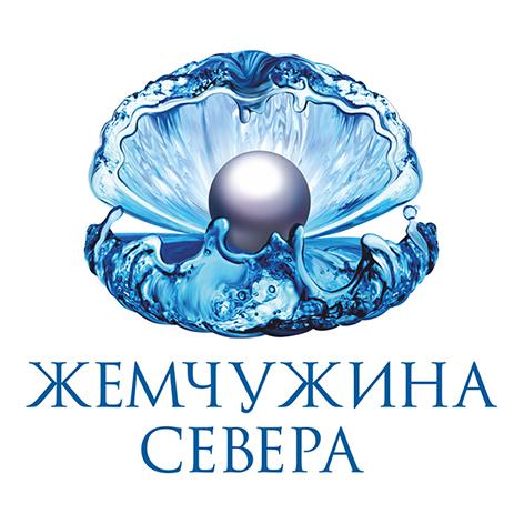 """Логотип """"Кольская жемчужина"""" для бутилированной воды"""