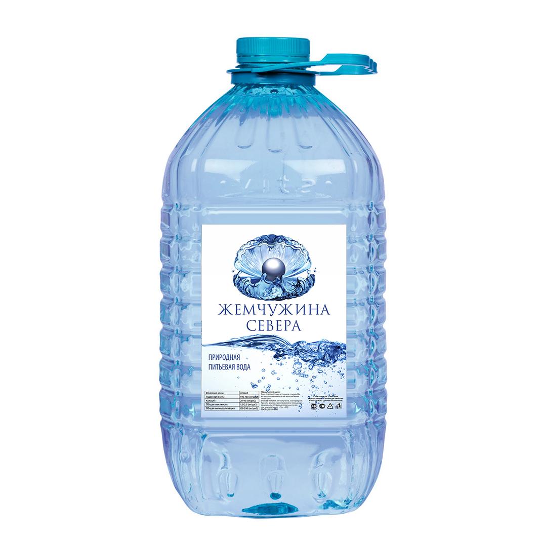 Этикетка для бутилированной воды