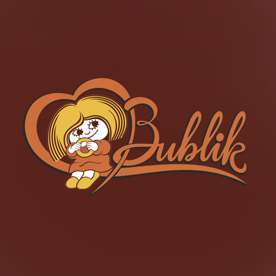 Торговая марка Bublik для упаковки