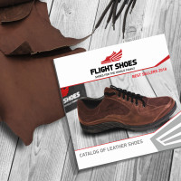 """Логотип и фирменный стиль """"Flight shoes"""""""