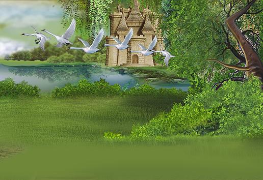 Иллюстрация для детского сайта