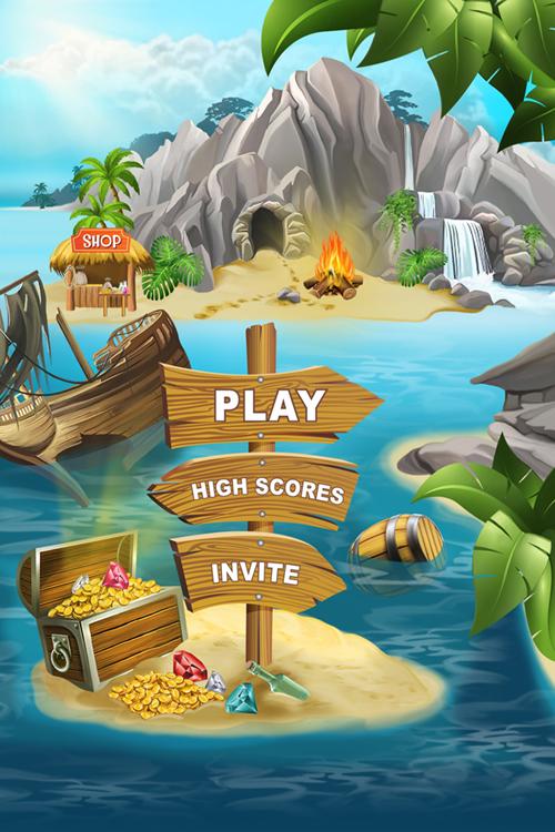Иллюстрация для игры Пираты