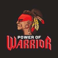 """Логотип """"Power WARRIOR"""" для энергетического напитка"""