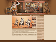 """Главная страница для трёх ресторанов """"Peggi`s bar"""" – http://peggy.dudek.uz"""