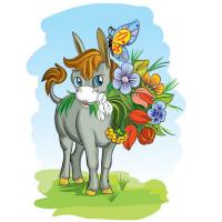 Тематическая иллюстрация в детской стилистике
