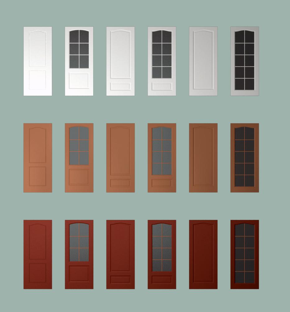 Двери для каталога мебели