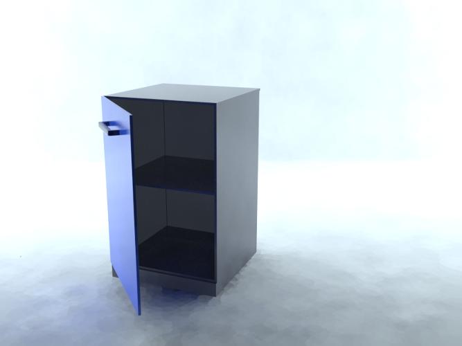 Тумбочка в 3D