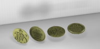 Монета - печать на 3d-принтере