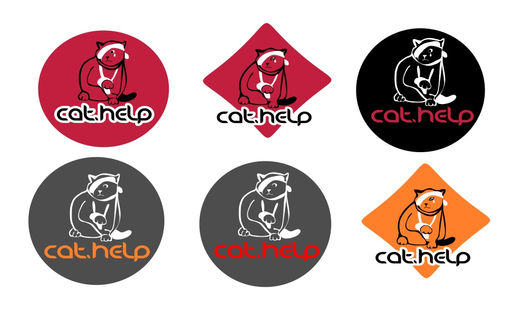 логотип для сайта и группы вк - cat.help фото f_08759e3d56002e15.jpg