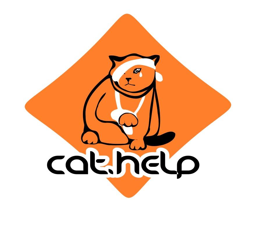 логотип для сайта и группы вк - cat.help фото f_33059e3bd4a328c3.jpg