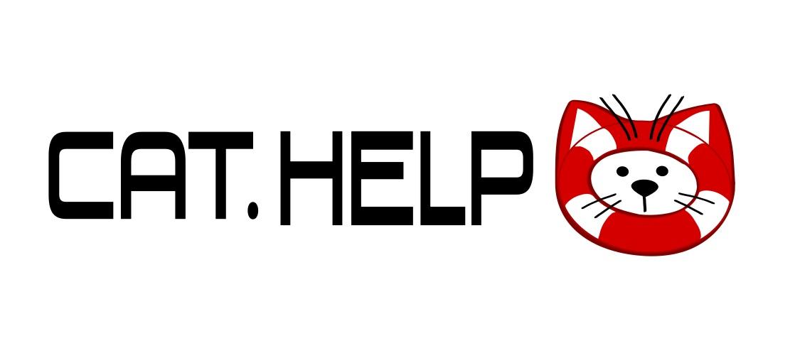логотип для сайта и группы вк - cat.help фото f_60159e3d28eaae68.jpg